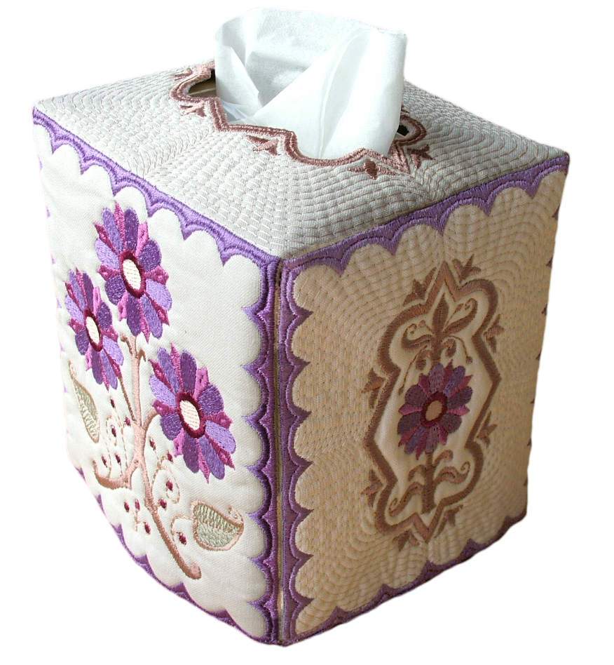 Adorned Tissue Box